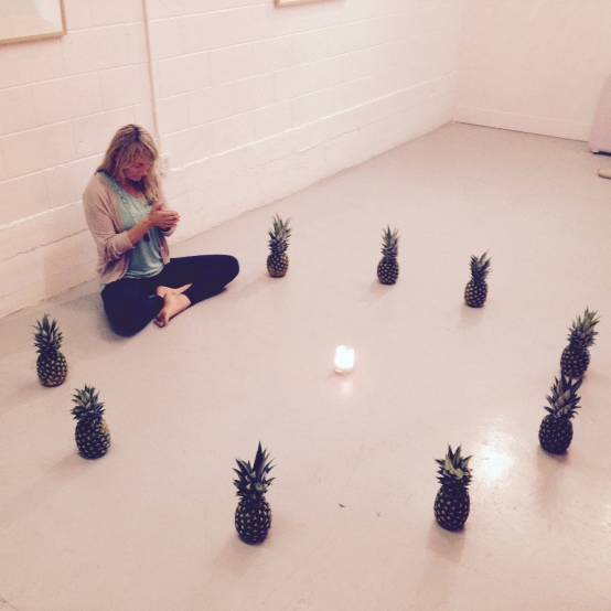 Carolyn Pineapple Meditation